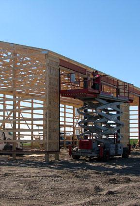 Precise Post Frame Building Craftsmanship