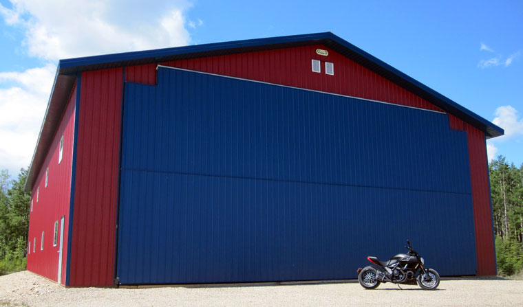 Post Frame Aircraft Hangars