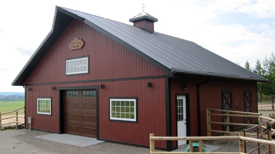 Post Frame Barns In Alberta Bc Saskatchewan