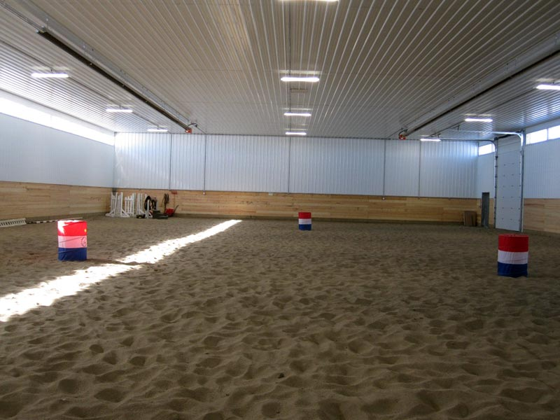 Post frame riding arenas | Alberta, BC, Saskatchewan